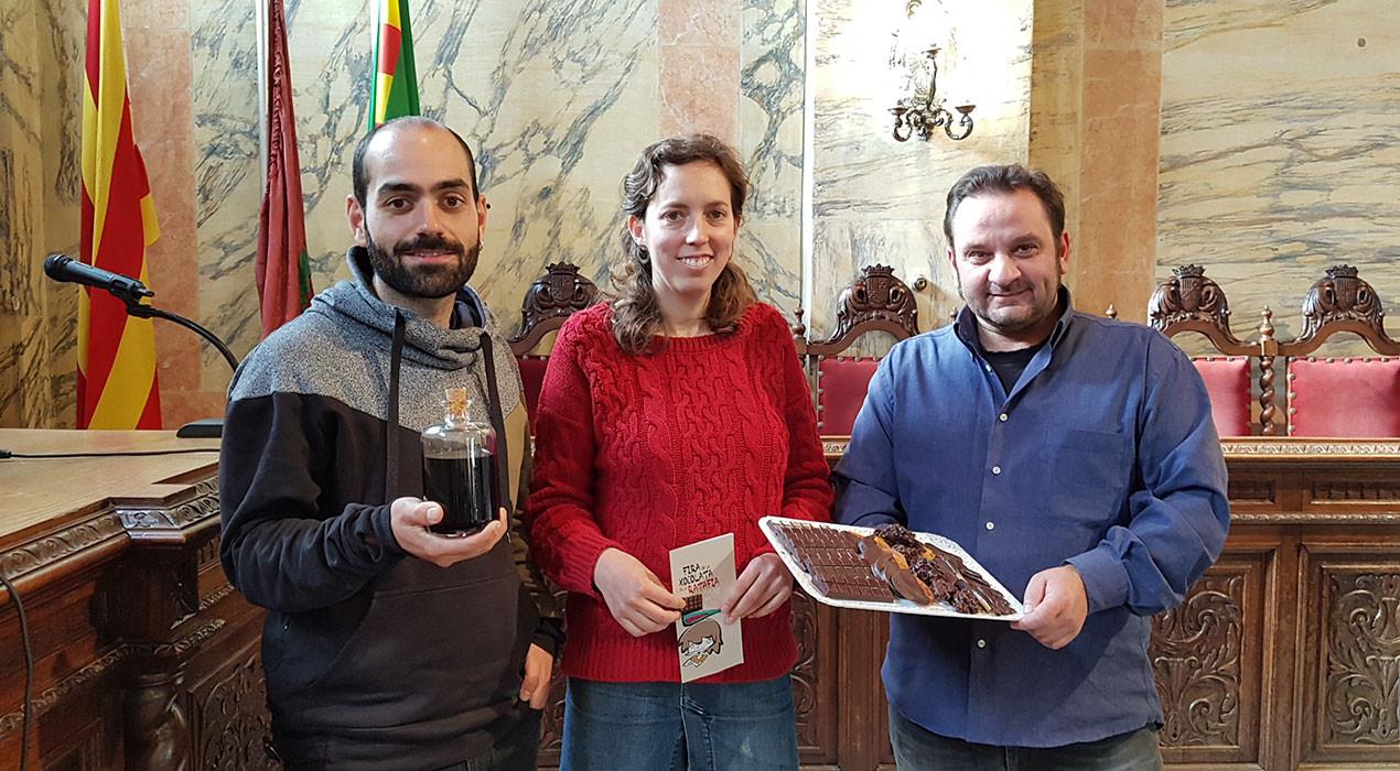 La Fira de la Xocolata i de la Ratafia farà que els visitants puguin elaborar i personalitzar la seva rajola de xocolata