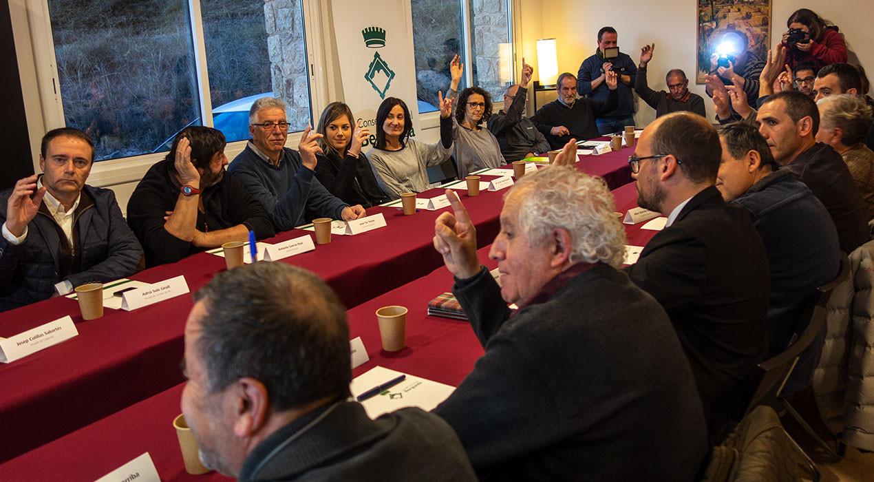 El Consell d'Alcaldes del Berguedà rebutja la incineradora de Cercs