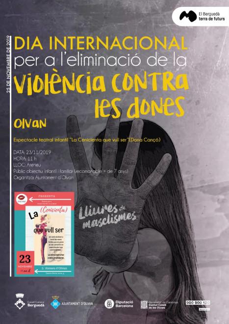 Espectacle teatral infantil: La Cenicienta que vull @ Ateneu Olvanès (OLVAN)
