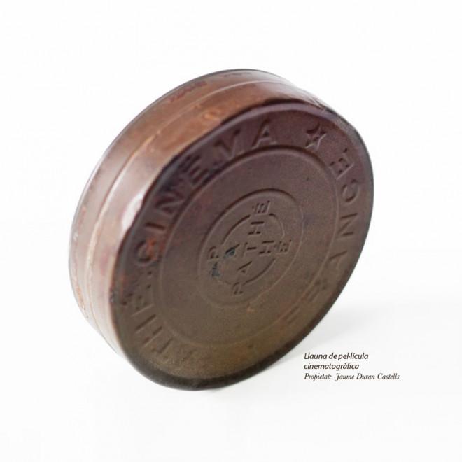 """Exposició """"La peça del mes"""": llauna cinematogràfica @ Museu Comarcal de Berga"""