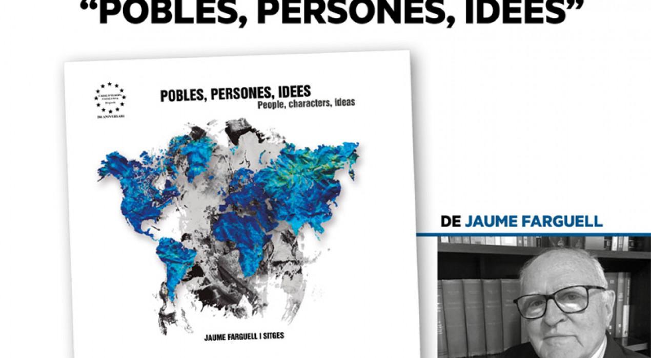 """Presentació del llibre: """"Persones, Pobles, Idees"""""""