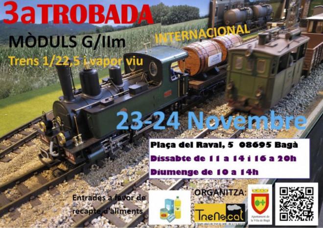 III Trobada de Maquetes de Trens @ Plaça del Raval (BAGÀ)