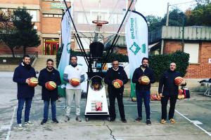 El Berguedà ofereix entrenaments de bàsquet per obrir patis d'escoles en horari extraescolar
