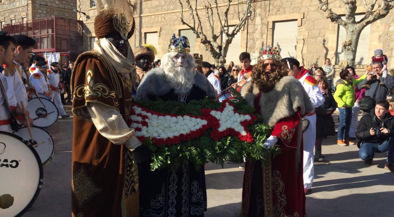 Recollida de carbó de Ses Majestats els Reis d'Orient 2019