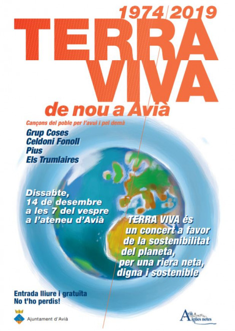 Concert TERRA VIVA @ Ateneu d'Avià