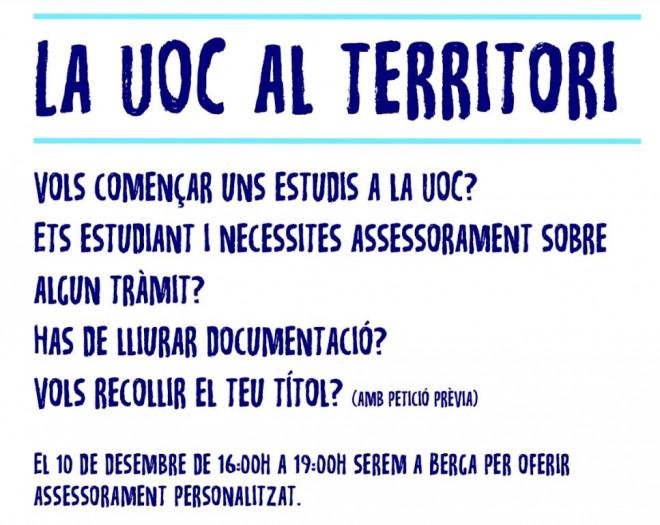 La UOC al territori @ Biblioteca Ramon Vinyes i Cluet (BERGA)
