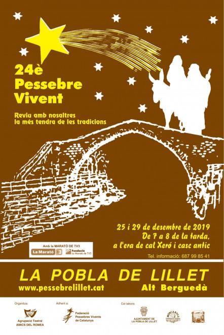 24è Pessebre Vivent de la Pobla de Lillet @ Era de cal Xeró i casc antic (LA POBLA DE LILLET)