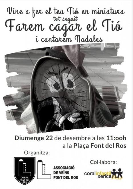Caga tió i nadales @ Plaça Font del Ros (BERGA)