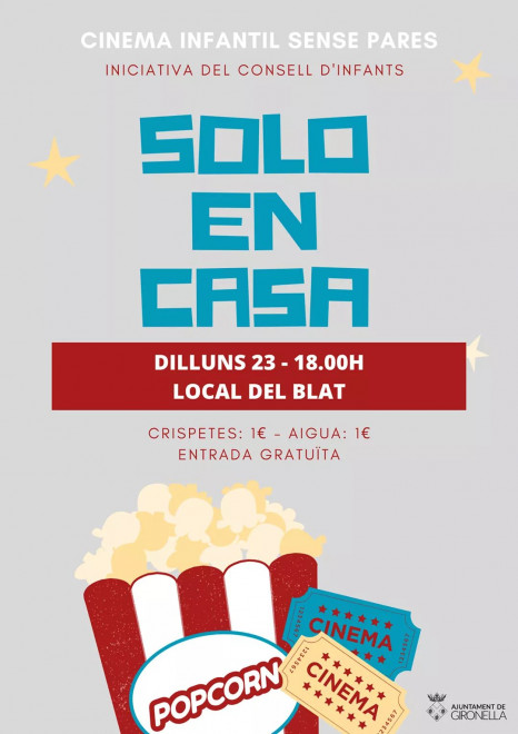 Cinema infantil @ Local del Blat (GIRONELLA)