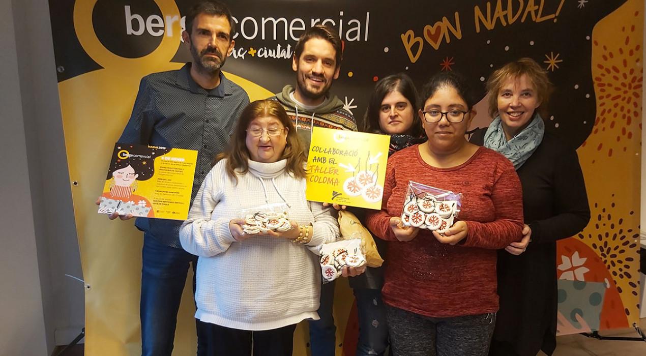 2.000 penjolls fets al Taller Coloma protagonitzen la campanya de Nadal de Berga Comercial