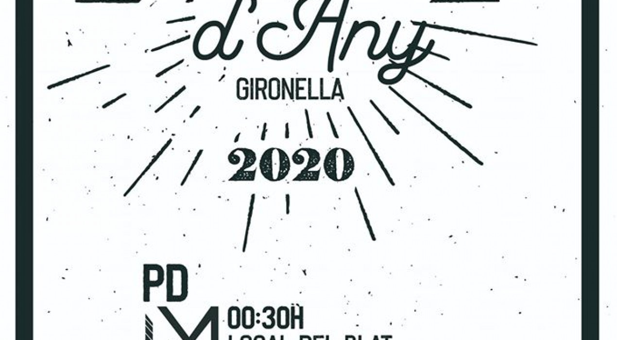 Cap d'any 2020 a Gironella