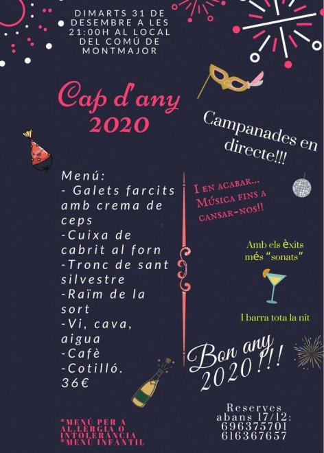 Cap d'any 2020 a MONTMAJOR @ Local del Comú (MONTMAJOR)