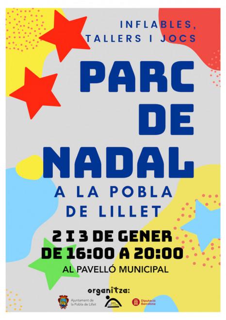 Parc de Nadal de la Pobla de Lillet 2020 @ Pavelló Municipal (LA POBLA DE LILLET)