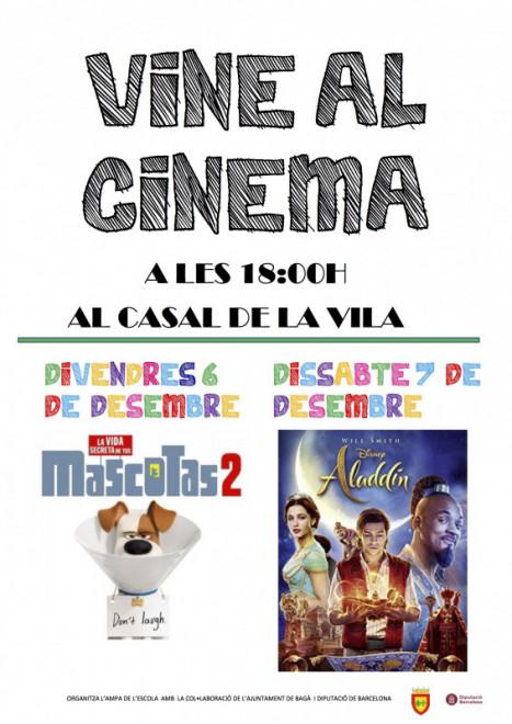 Cinema a BAGÀ: Mascotas 2 @ Casal de la Vila (BAGÀ)