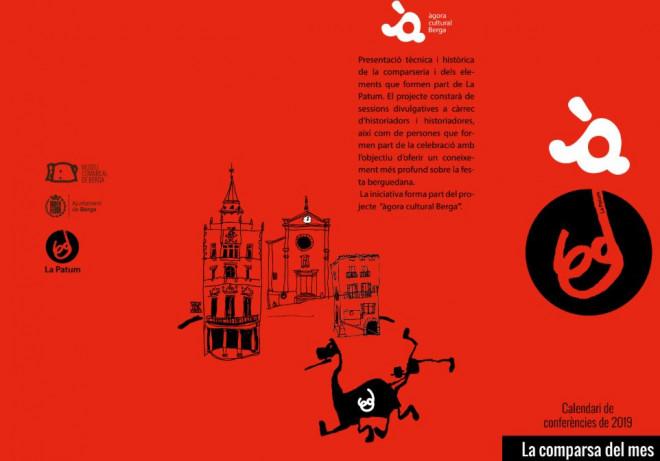 La comparsa del mes: poble @ Sala de plens de l'Ajuntament de Berga