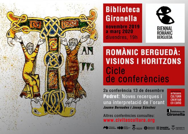"""CONFERÈNCIA """"Pedret: Noves recerques i una interpretació de l'orant"""" @ Biblioteca de Gironella"""