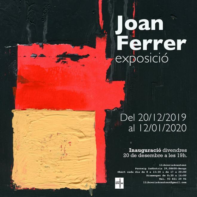 Exposició de JOAN FERRER @ Llibreria QuatreCantons (BERGA)