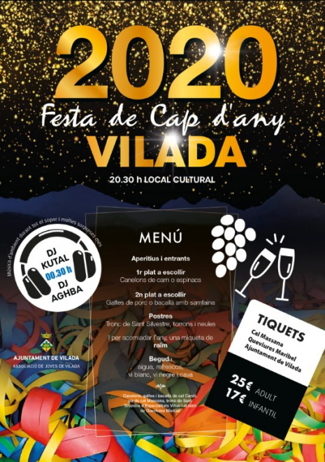 Cap d'any 2020 a VILADA @ Local Cultural (VILADA)