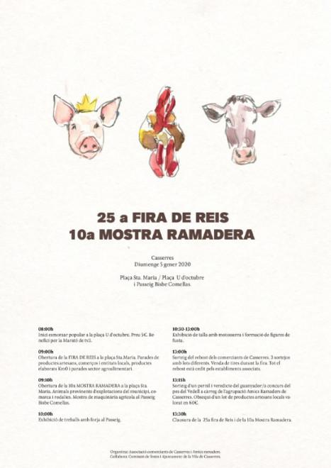 Fira de Reis i Mostra Ramadera 2020 @ Casserres