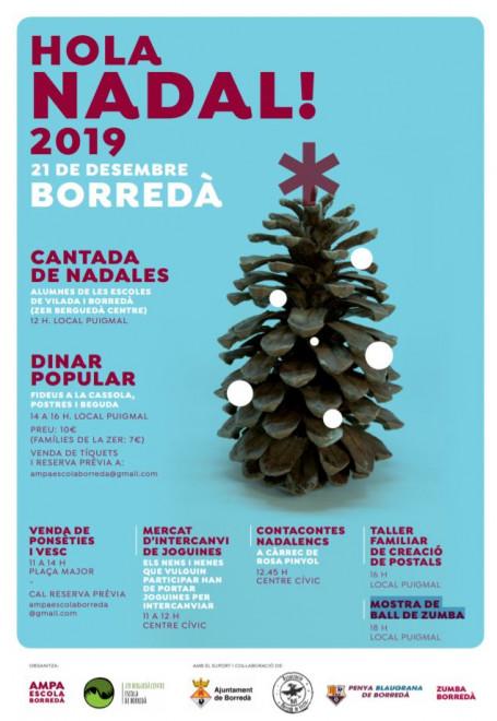 Activitats Nadal 2019 a Borredà @ Borredà