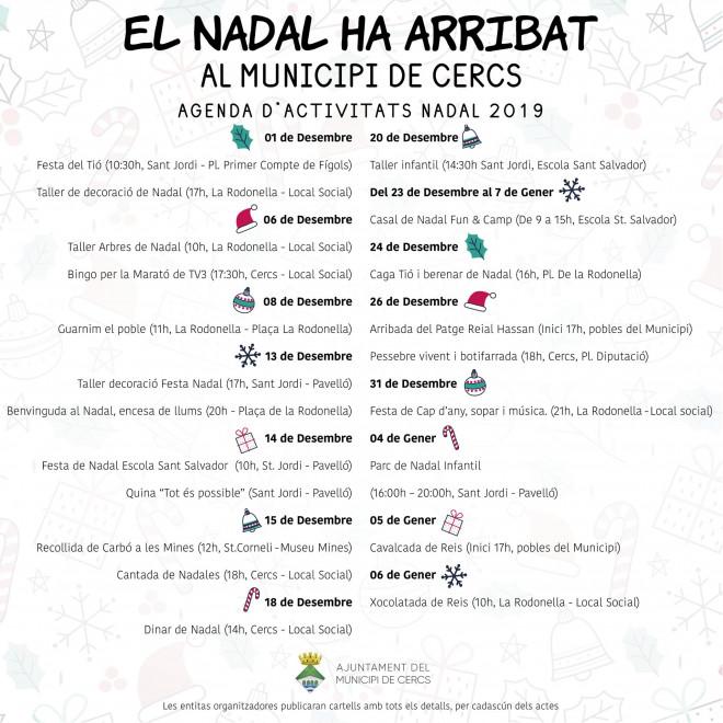 Taller infantil de Nadal @ Escola Sant Salvador (Sant Jordi)