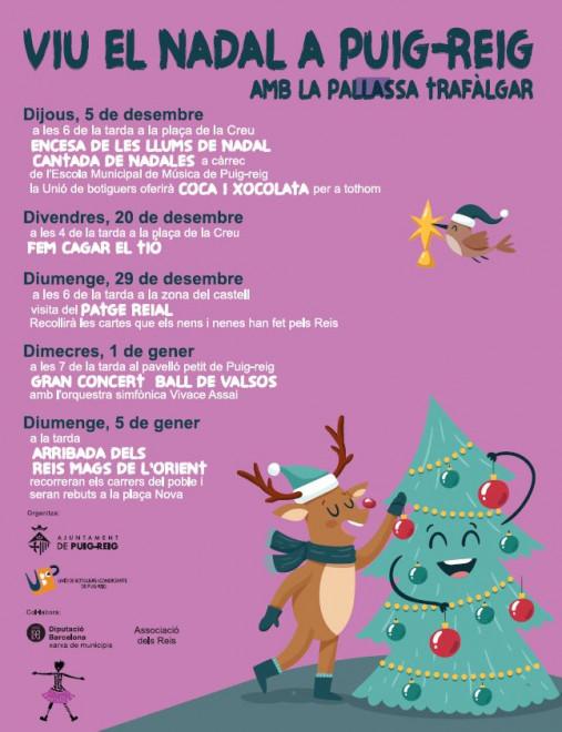 Encesa llums Nadal a PUIG-REIG @ Plaça de la Creu (PUIG-REIG)
