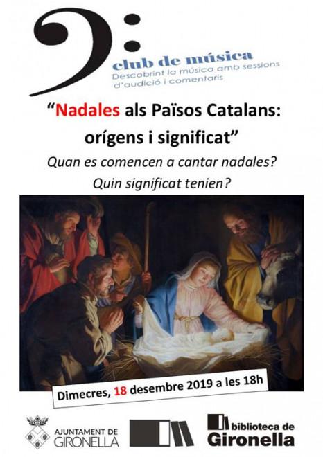 Club de música: nadales als Països Catalans @ Biblioteca de Gironella