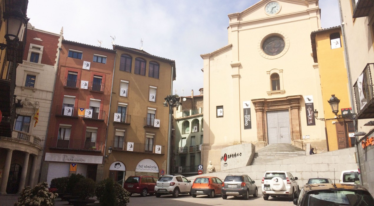 Berga eliminarà els aparcaments a la plaça de Sant Pere i limitarà la circulació a veïns a principis del 2020