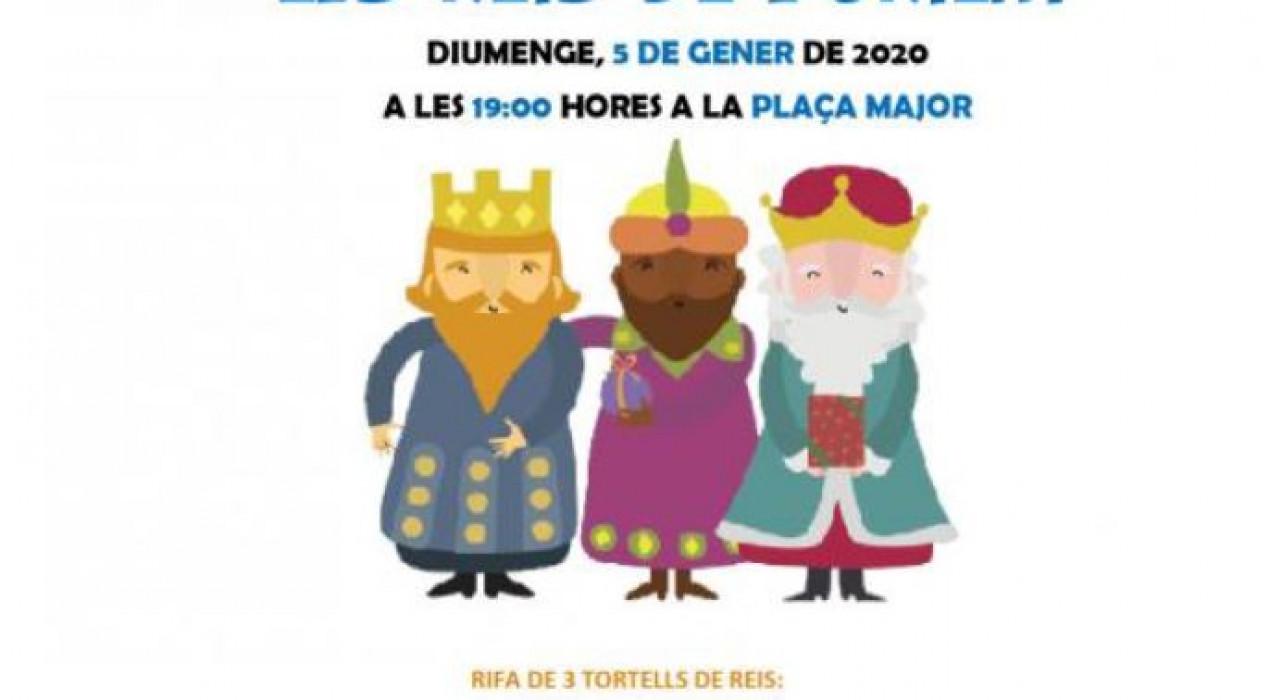 Cavalcada Reis Mags d'Orient 2020 a BORREDÀ