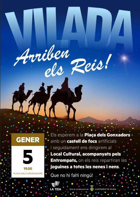 Cavalcada Reis Mags d'Orient 2020 a VIALDA @ Vilada