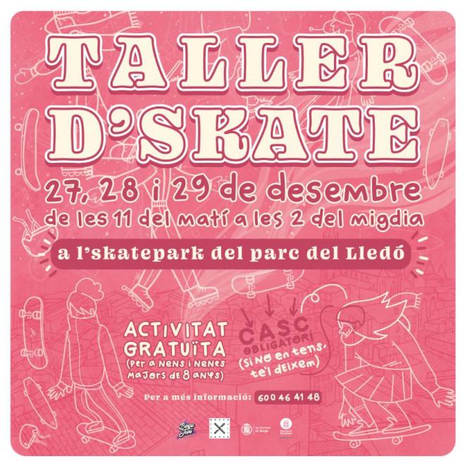 Taller d'skate @ Skatepark del Lledó (BERGA)