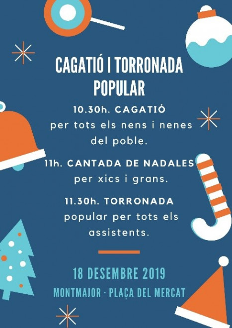 Cagatió i torronada popular @ Plaça del Mercat (MONTMAJOR)