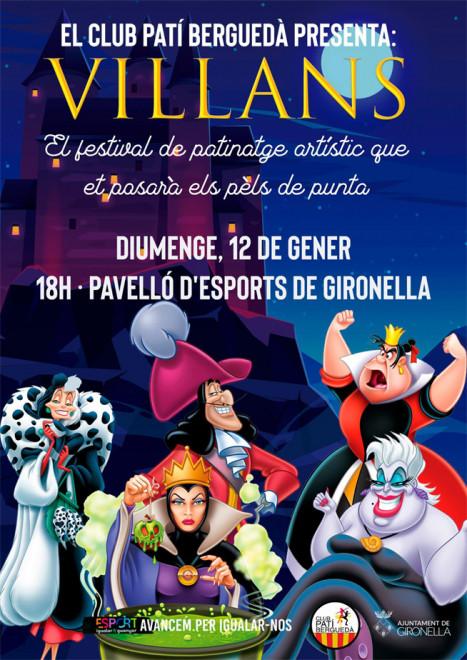 FESTIVAL DE PATINATGE @ Pavelló esportiu municipal (GIRONELLA)