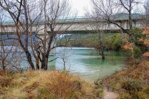 L'aigua de Puig-reig recupera la terbolesa d'abans del temporal