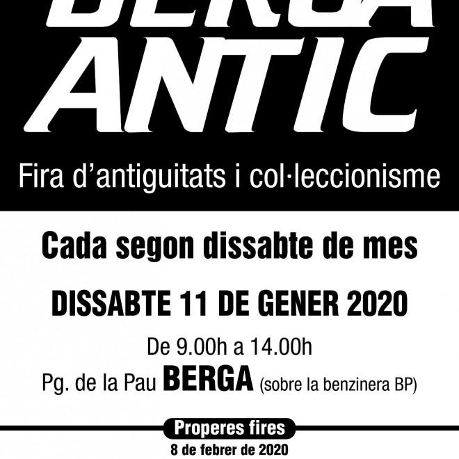 BERGA ANTIC · gener 2020 @ Pg. de la Pau (BERGA)
