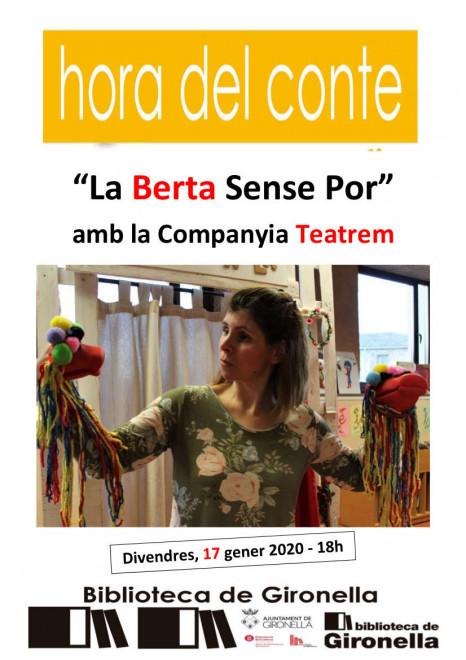 L'Hora del conte: La Berta sense por @ Biblioteca de Gironella