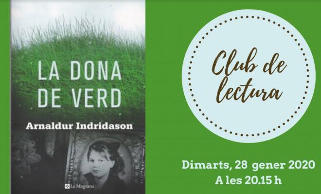 Club de lectura: La dona de verd @ Biblioteca Ramon Vinyes i Cluet (BERGA)