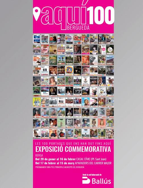Exposició commemorativa AQUÍ BERGUEDÀ @ Casal Cívic (Pl.Sant Joan - BERGA)