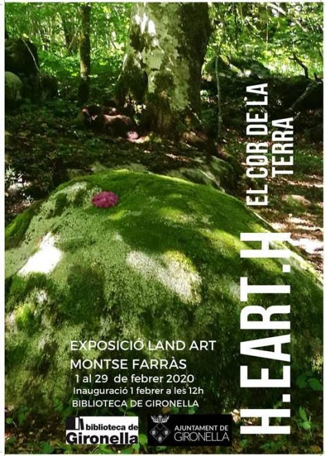 Exposició LAND ART: el cor de la terra @ Biblioteca de Gironella