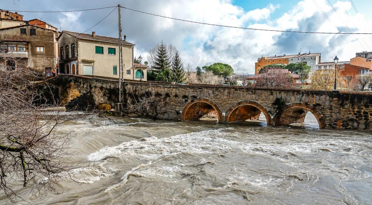 La Diputació de Barcelona subvencionarà part de les despeses dels municipis afectats pel temporal Glòria