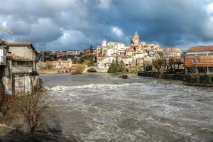 Els onze punts de Gironella malmesos pel temporal Glòria