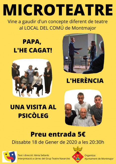 Microteatre a Montmajor @ Local del Comú (MONTMAJOR)