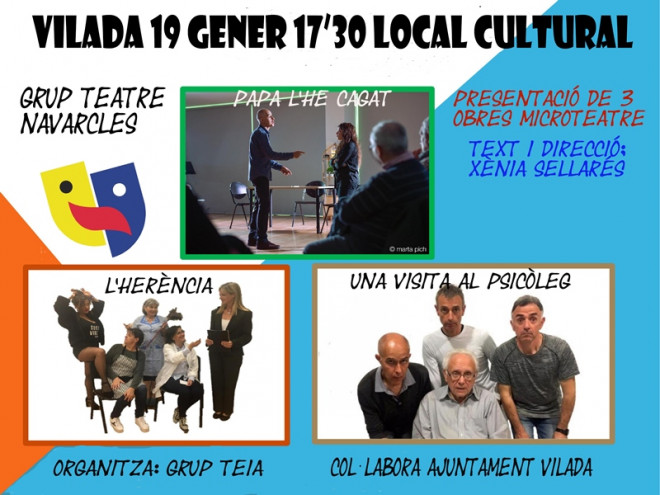 Microteatre @ Local Cultural (VILADA)