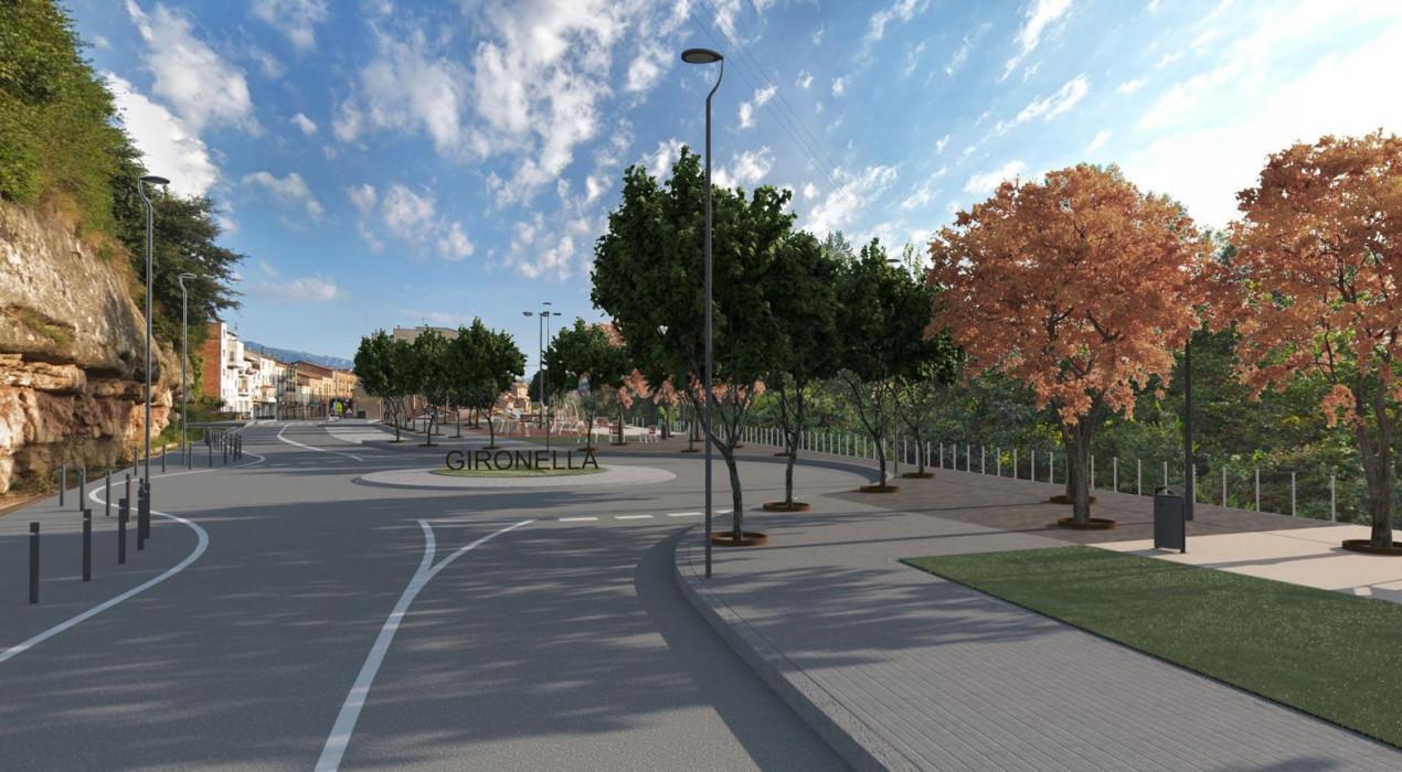 La transformació de l'entrada sud de Gironella s'inicia aquest 2020 amb una inversió de 926.000 euros