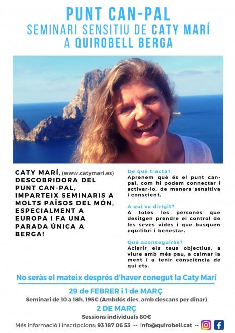 Seminari sensitiu de Caty Marí @ Quirobell BERGA