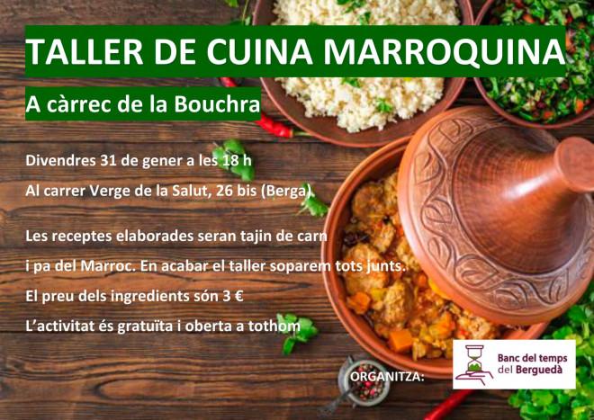 Taller de cuina marroquina @ Verge de la Slaut, 26 bis (BERGA)