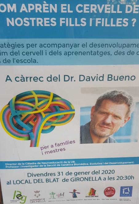 Com aprèn el cervell dels nostres fills i filles? @ Local del Blat (GIRONELLA)