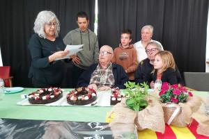 Avià homenatja Josep Bartoló el dia del seu 100è aniversari