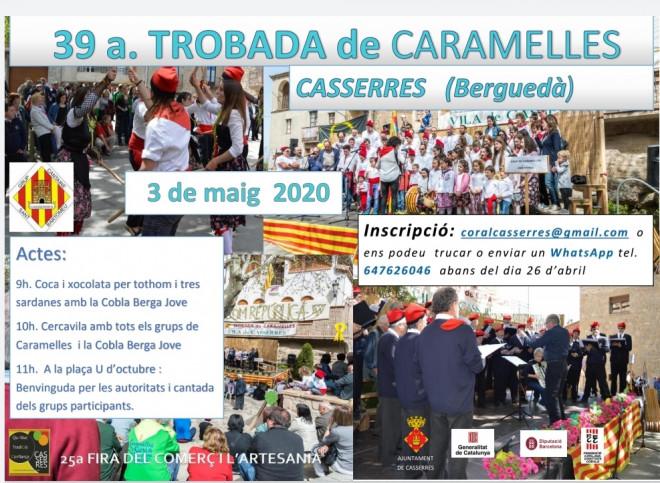TROBADA DE CARAMELLES 2020 @ Casserres