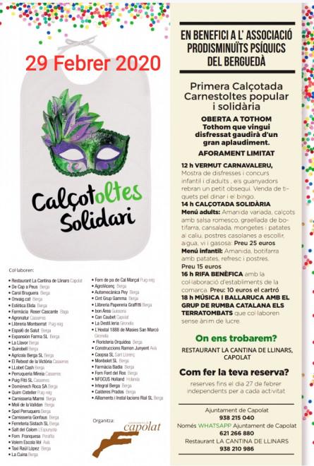 Calçotoltes solidari @ Capolat
